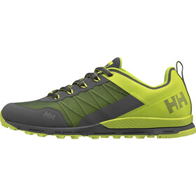 Helly Hansen Varde Trail Sko Herrer, charcoal/azid lime/ebony/light green